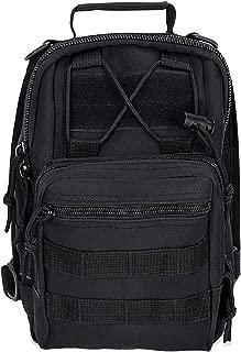 Tactical Shoulder Sling Bag MOLLE Chest Bag Single Shoulder Messenger Bag Tool Backpack for Cycling Hiking Climbing