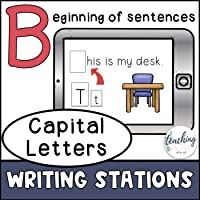 Writing Stations - Capital Letters – Beginning Capitalization
