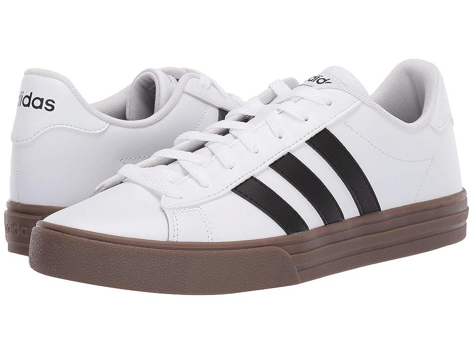 adidas Daily 2.0 (Footwear White/Core Black/Gum 5) Men
