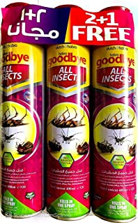 Habro Goodbye All Insects Spray - 400ml (Pack of 3)