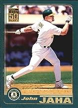 2001 Topps #689 John Jaha MLB Baseball Trading Card