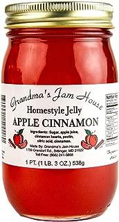 Homestyle Apple Cinnamon Jelly - One Pint - Grandma's Jam House