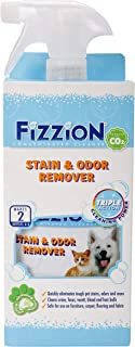 Fizzion Pet Stain & Odor Remover 23oz Empty Spray Bottle 2 Refills (Makes 46oz)