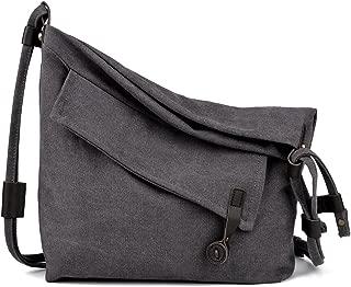 Canvas Bag for Women Crossbody Bag Messenger Bag Shoulder Bag Canvas Purse Bag Unisex