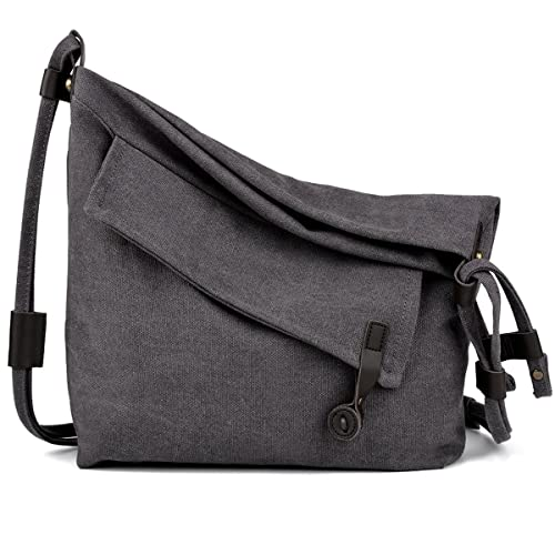 1c077f7cdf COOFIT Canvas Bag for Women Crossbody Bag Messenger Bag Shoulder Bag Hobo  Bag Unisex