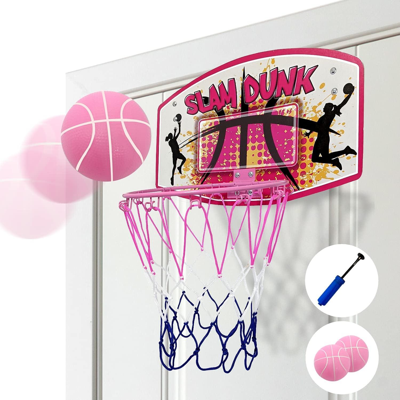 Bundaloo Mini Basketball Hoop Over The Door Indoor Basketball Ga