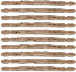 ROSE KULI Soft Senko Baits Plastic Bass Worms Lures Freshwater Swimming Weedless 10pcs Kits