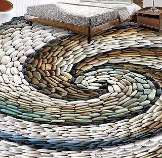 Pebbles Photo Wallpaper 3D Floor Tiles Painting Stickers Children's Room Living Room Anti Wear PVC Vinyl Flooring Murals -140cmx110cm