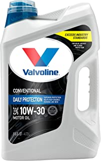 Best Valvoline Daily Protection SAE 10W-30 Conventional Motor Oil 5 QT Review