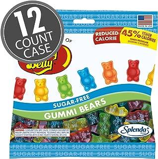 Jelly Belly Sugar-Free Gummi Bears (Case of 12)