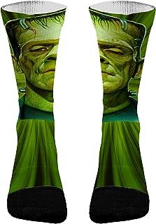 Frankenstein Halloween Athletic Compression Dri-Fit Moisture Wicking Socks