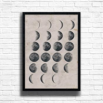 Phases The Moon Maxi Poster 61cm x 91.5cm new and sealed