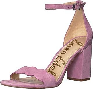 99cfeba038f Amazon.com  Purple - Heeled Sandals   Sandals  Clothing