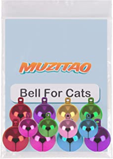 Muzitao Pet Bells (12 Pack) Strongest & Loudest Pet Collar Bells