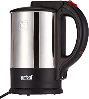 Sanford Stainless Steel Electric Kettle - Sf3348Ek-1.7L Bs Black