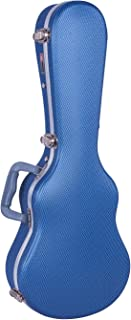Crossrock Baritone Ukulele Case With Backpack Straps in Blue(CRA800BUBL), ABS Molded