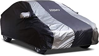 Amazon Brand - Solimo Maruti Ciaz Water Resistant Car Cover (Dark Blue & Silver)