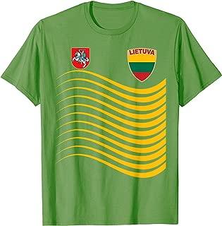 Lithuania Basketball Jersey Lietuva Flag Soccer Gift  T-Shirt