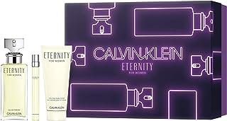 KIT Calvin Klein Eternity Feminino (EDP 100ml+ Hidrat 100ml + PS 10ml), Calvin Klein, 100