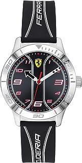 Scuderia Ferrari Reloj Analógico para Niños de Cuarzo con Correa en Silicona 0810024