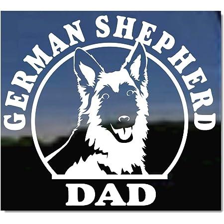 GERMAN SHEPHERD MOM BUMPER STICKER DECAL DOG