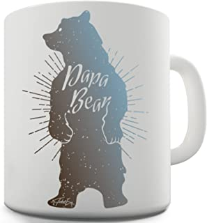 Twisted Envy Papa Bear Ceramic Mug For Dad Father's Day