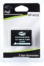 Inov8 Fuji NP-W126 Replacement Lithium Digital Camera Battery 800mAh 7 2v Li-ion year warranty for and Cameras inc X-A1  X-E1  X-E2  X-M1  X-Pro1  X-Pro2  X-T1 and X-T10