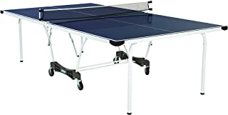 Prince Element Regulation-Size Outdoor Table Tennis Table Includes All-Weather Post and Net Set