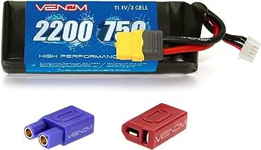 Venom 75C 3S 2200mAh LiPo Battery with XT60 Plug