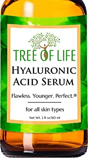 Best Hyaluronic Acid Serum for Face - DOUBLE SIZE (2oz) Hyaluronic Acid Moisturizer for Skin Review