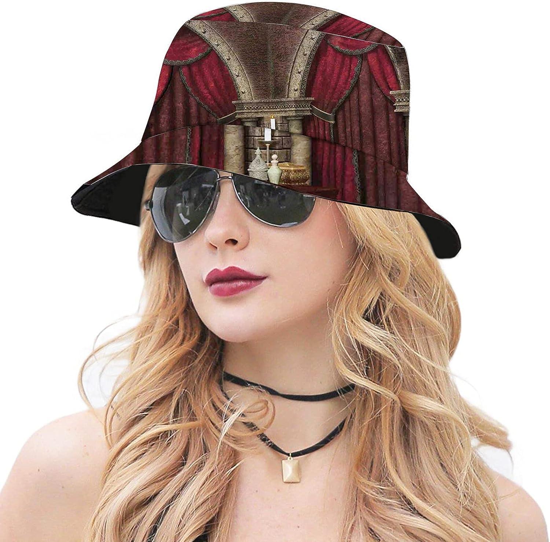 Direct sale of manufacturer Multicolor Unisex Cute Bucket Hat Sun Max 51% OFF Wide Cap Brim