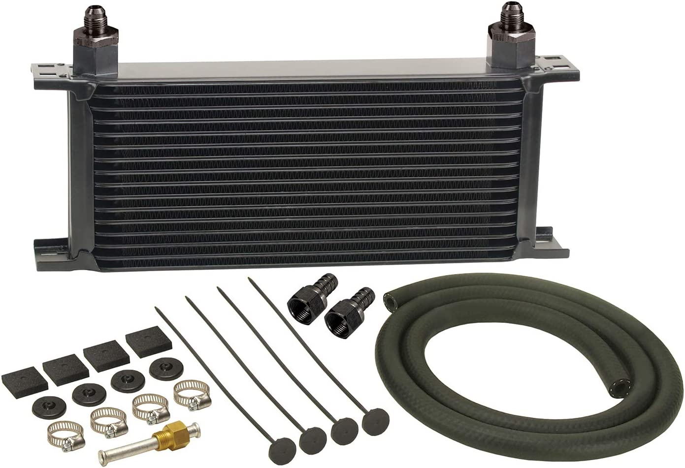 Derale 13402 Series 10000 Stacked Plate Cooler Oil wholesale Transmission Ranking TOP4