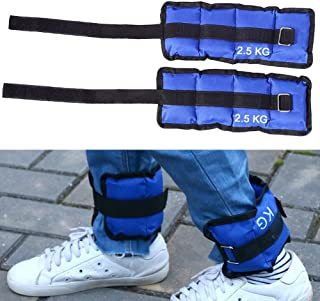Wrist and Ankle Weights,Fully Adjustable Strap Weight for Arm Hand Leg Best for Walking Jogging Gymnastics Aerobics