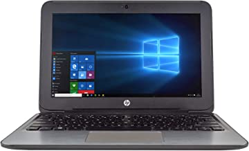 "HP Stream 11 Pro G2 Laptop Computer 11.6"" LED Display PC, Intel Dual-Core Processor, 4GB DDR3 RAM, 64GB eMMC, HD Webcam, H..."