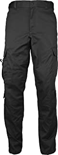 Army Universe Uniform 9 Pocket Cargo Pants Work Utility Safety Pants EMT EMS Police Security with Pin