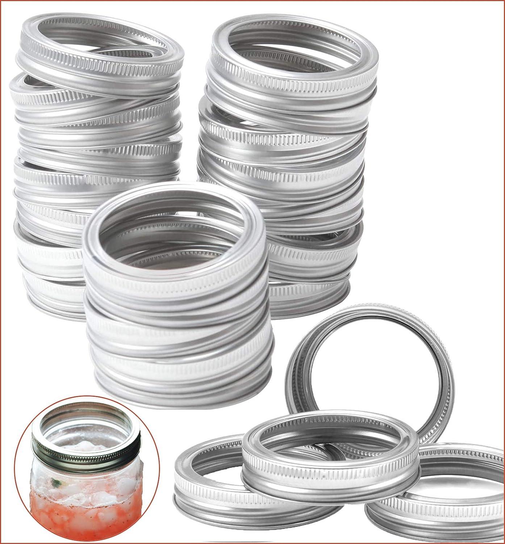 Canning Superlatite Lids 24Pack Sale SALE% OFF 70mm Mouth Jar Regular Mason