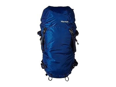Marmot Eiger Rock (Estate Blue/Total Eclipse) Backpack Bags