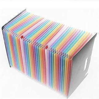 Dossier d'expansion du dossier A4 Grand plastique Extensible dossier Organisateurs Dossier de permanence pour Documents Bu...