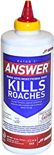 JT Eaton 360 Answer Boric Acid Insecticidal Dust, 16 oz Bottle, 1_Pound, N