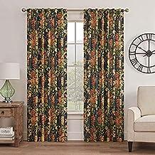 "WAVERLY Curtains for Bedroom - Kensington Bloom 52"" x 84"" Decorative Single Panel Rod Pocket Window Treatment Privacy Curt..."
