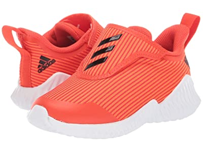 adidas Kids FortaRun AC (Toddler) (Orange/Black) Boys Shoes