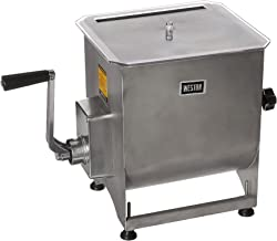 Weston Stainless Steel Meat Mixer, 44-Pound Capacity (36-2001-W), Removable Mixing Paddles