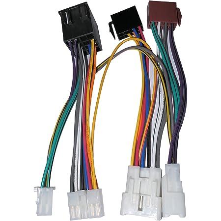 Aerzetix C12172 Autoradio Adapterkabel Für Elektronik