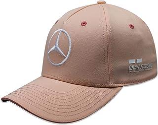 Mercedes AMG Petronas Lewis Hamilton Monaco GP 2018 specjalna edycja czapka różowa