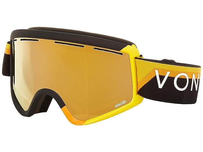 Cleaver Goggle 20th Black Yellow Gloss/Wild Bronze Flash Lens
