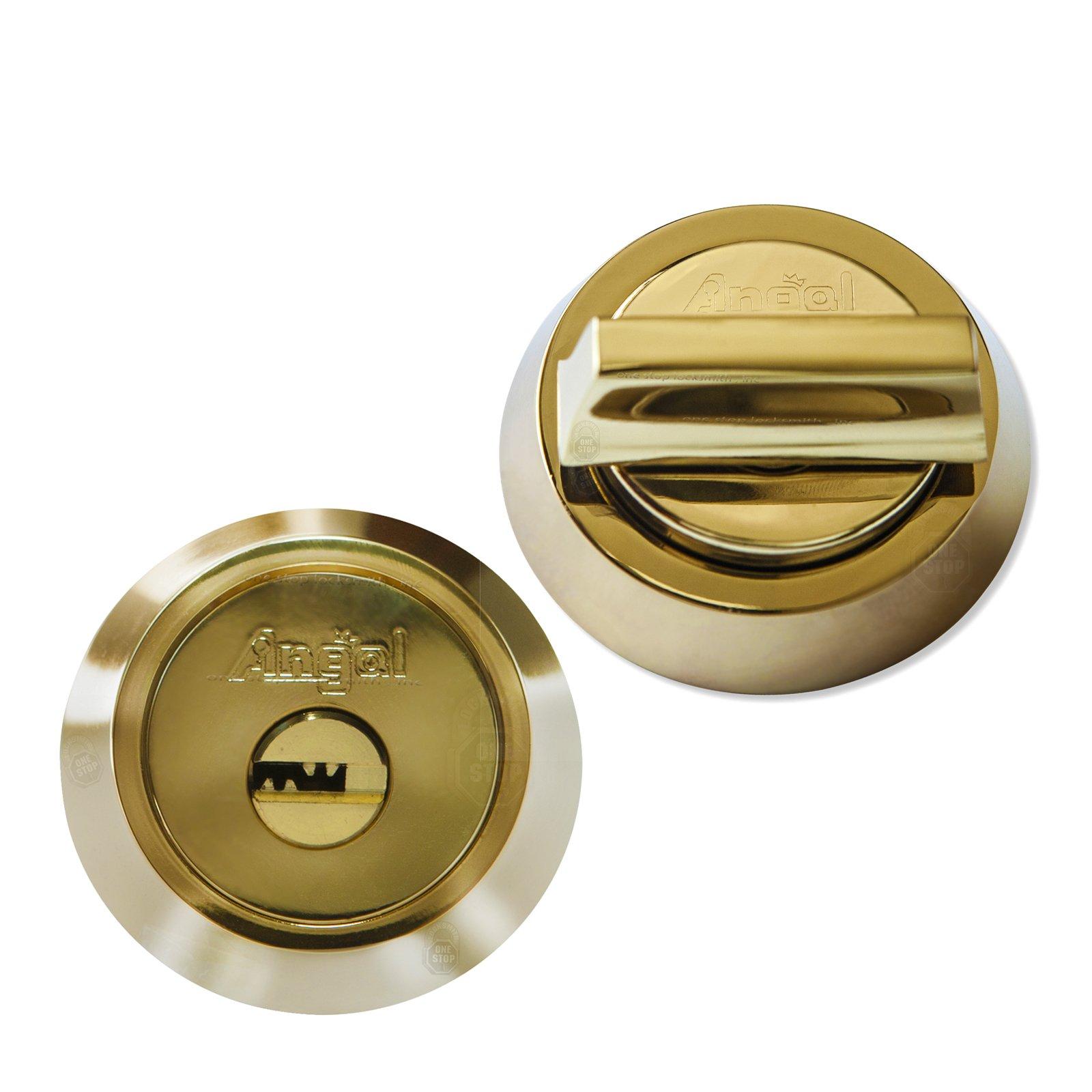 Single Cylinder High Security Deadbolt Brass bump//pick//drill proof