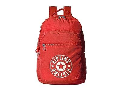 Kipling Clas Seoul Backpack (Active Red) Backpack Bags