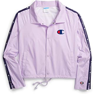 Champion Life Womens JL8501 Zipper Tape Cropped Coaches Jacket Jacket