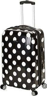 Luggage 20 Inch Carry On, Black Dot, Medium