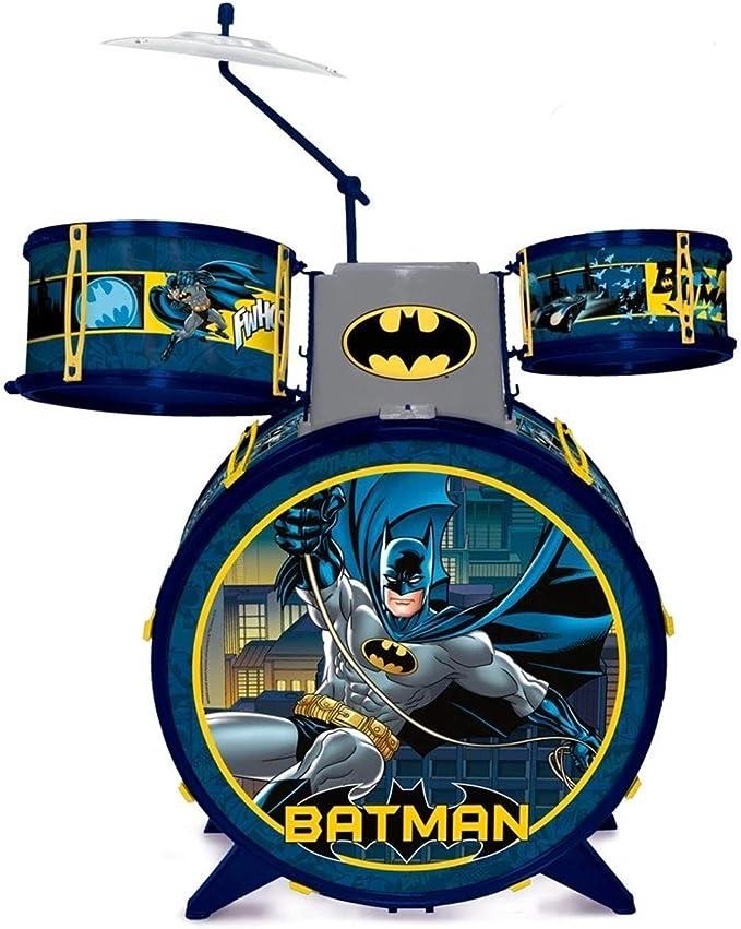 Bateria Infantil - Batman Cavaleiro das Trevas, Fun Divirta-se, Multicor